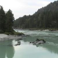Вид на горную реку